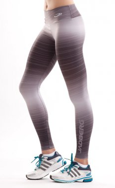 Luxury women's slimming sports leggings with a high Paris waist