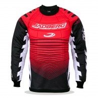 Floorball goalie jersey with Defender 3-Junior protectors