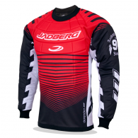 Floorball goalie jersey with Defender 3-Senior protectors