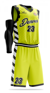 Denver basketball shorts with free prints
