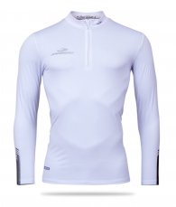 Thermo T-shirt with long sleeves and zipper