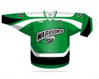 Hockey jersey made of quality Warriors material