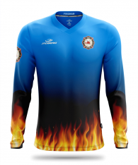 Blaze quick-drying firefighter jersey