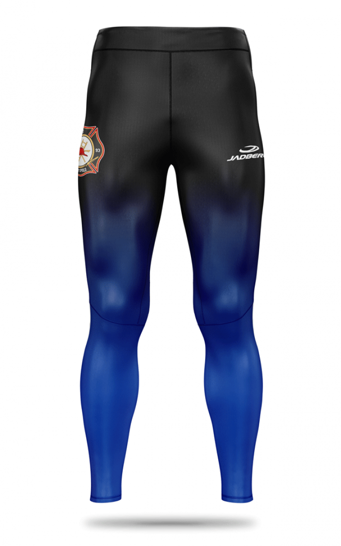 Men's sports leggings made of functional Blaze material
