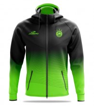 Team jacket with hood Bravo Hood-Free prints