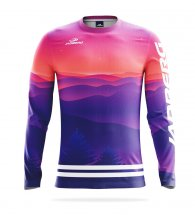 Women's thermal T-shirt with long sleeves Thermo + Sunset