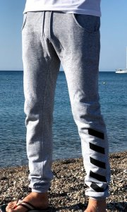 Men's stylish Melk Pants-GRAY sweatpants