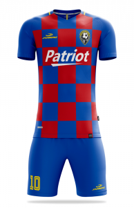Patriot sports jersey and shorts set