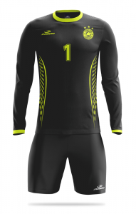 Soccer goalie jersey and shorts Master 2 SET