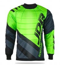 Floorball goalie jersey with Renegade Top-Senior protectors