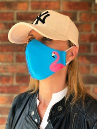 Two-layer mask Flamingo-2-type Mask