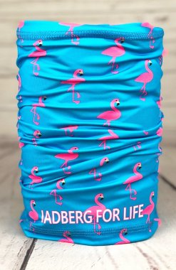 Flamingo multifunctional scarf-neckerchief
