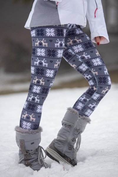 Insulated leggings Deer